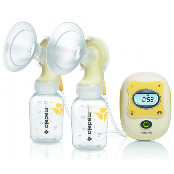 Dual automatic breast pump
