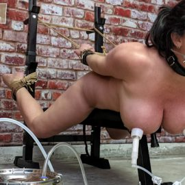 Christina Carter milked!